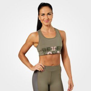 Better Bodies Bowery Sports Bra Washed Green